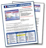 French for Cruisers Flyer and Press Kit